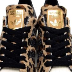 Leopard trainers. #Love