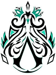 Assassins Creed-Symbol - The Creed - Tatouage Assassins Creed, Assassins Creed Tattoo, Assassins Creed Quotes, Asesins Creed, Body Art Tattoos, I Tattoo, Tatoos, Assassin's Creed Hidden Blade, Tattoos
