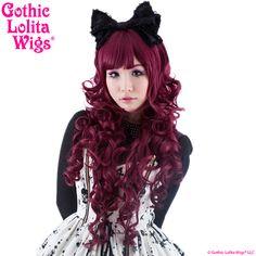 Gothic Lolita Wigs® <br> Duchess Elodie™ Collection - Burgundy Mix