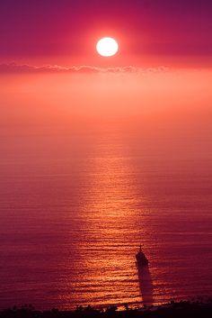 Sunset in Hawaii Via LadyLuxury