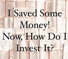 How to get started investing your money and improving your personal finances