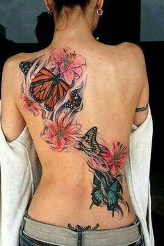 Beautiful back piece, love it!