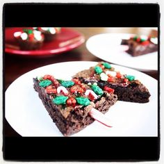 Easy Christmas Brownies!