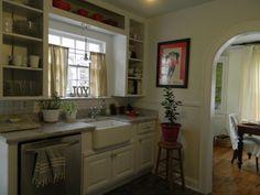 cottage tiny kitchens pinterest | small cape cod cottage kitchen