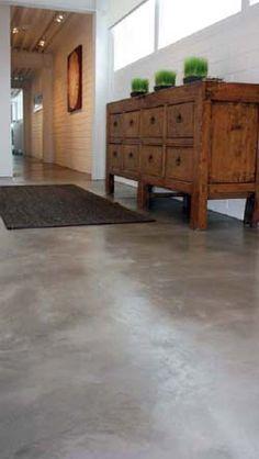 Staining Recipe: Concrete Chic - Concrete Decor - Surtec's Aquapro Sealer &…