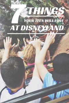 7 things your teen or tween boy will love at Disneyland