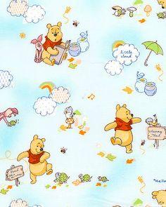 Disney Pooh - Little Cloud Friends - Aqua