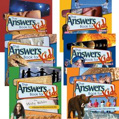 The Answers Book for Kids Series by Ken Ham from Answers in Genesis (Kindergarten & Up)