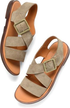 1914b8f5243ac8 Korkease Nara in Taupe - Korkease Womens Sandals on Shoeline.com Sister  Sister