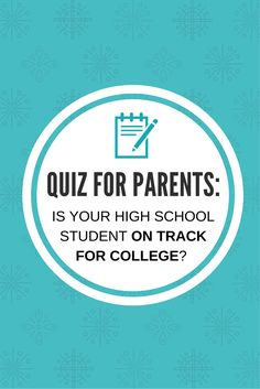 Take our quiz to find out if your student will be ready to fill out #college and #scholarship applications their senior year.