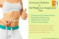 eCommerce Platforms to Sell Weight Loss Supplements