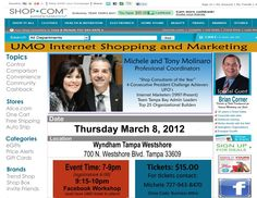 Big night tonight! Thinking about owning an Internet business or just want to learn how to save money shopping online, this is the place to be tonight! http://on.fb.me/ywEode