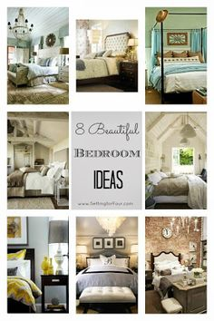 Setting for Four Source List for Bedroom Decor Inspiration // Curated Collection for Crane & Light Blue Bedroom Colors 22 Calming Bedroom Decorating Ideas ...