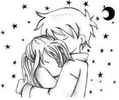 desenhos em preto e branco romanticos - Pesquisa Google