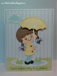My Craft Spot: DT post by GiGi - April Showers Bring May Flowers