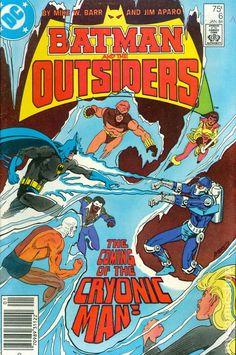 Batman and the Outsiders (1983) Mark Jewelers 6MJ DC Comic Book covers Batman Dark Knight Gotham