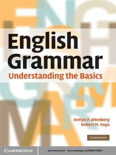 May 19, 2019 - This Pin was discovered by VitalSource. Discover (and save!) your own Pins on Pinterest English Learning Books, English Books Pdf, English Language Learning, Speech And Language, Learn English, Language Arts, English Dictionary Pdf, English Grammar Basic, Esl