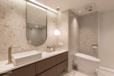 Bathroom Interior, Home And Living, Toilet, Mirror, Bath Room, House, Furniture, Plastic, Design