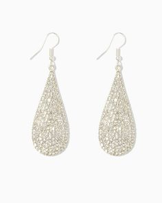Gala Event Pavé Earrings
