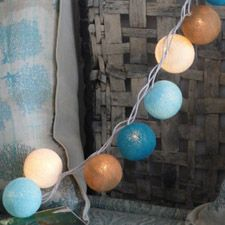 cable & cotton string lights :: i feel like these are diy-able...