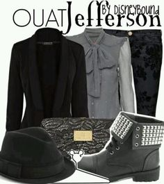 Once upon a time TV Jefferson the mad hatters style