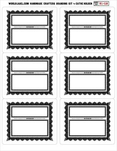 The Handmade Crafters Label Branding Kit! | Just Something I Made