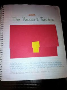 A Teacher's Treasure: Interactive Student Notebook - Reading