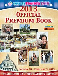 Livestock Shows at the Kubota Agriplex | 2013 Premium Book | South Florida Fair