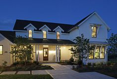 Modern Farmhouse - traditional - exterior - omaha - Curt Hofer & Associates