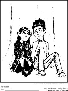 Paranorman Coloring Pages 2