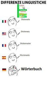 differenze linguistiche - dictionary