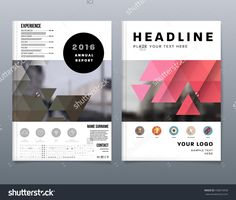 Abstract Background. Geometric Shapes And Frames For Presentation, Annual Reports, Flyers, Brochures, Leaflets, Posters, Business Cards And Document Cover Pages Design. A4 Title Sheet Template Стоковая векторная иллюстрация 438873958 : Shutterstock