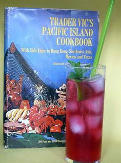 The original Rangoon Ruby recipe from Trader Vic's Pacific Island Cookbook (1968)