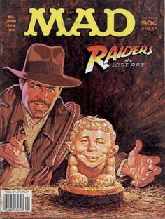 MAD magazine, required reading as a child...