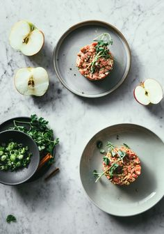 Beef Dishes, Food Dishes, Tartare Recipe, Ceviche, Whole Food Recipes, Food Photography, Hummus, Clean Eating, Food Porn