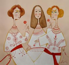 This is from the Ukrainian Art website, a fantastic resource showcasing great artists from Ukraine.