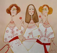 This is from the Ukrainian Art website, a fantastic resource showcasing great artists from Ukraine. Автор Вутянова Юлія, Україна