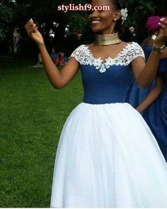 latest shweshwe dresses in South Africa in 2019 - Pretty 4 African Print Dresses, African Fashion Dresses, African Dress, African Wedding Attire, African Attire, South African Fashion, African Print Fashion, African Traditional Wedding Dress, Traditional Outfits