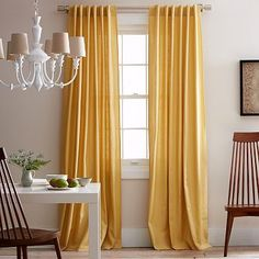 Linen Cotton Curtain Desert Marigold