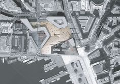 Vestbanen siteplan, Oslo / competition entry Space Group, Oslo, Times Square, Competition, Projects, Travel, Log Projects, Blue Prints, Viajes