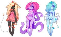 Adoptables Batch 20: 1/3 OPEN by Zombutts on DeviantArt