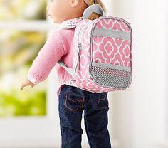 Pink Geo Doll Backpack #pbkids