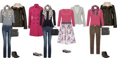 Capsule wardrob, school run mum,