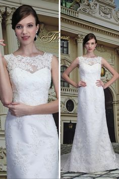 Elegant Fitted Wedding Dress with a Flare - Finesse Bridal Wear in Listowel, Co Kerry #FitandFlare #ElegantWedding