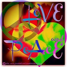 Love and Peace quote via Alice in Wonderland's TeaTray at www.Facebook.com/WonderlandsTeaTray