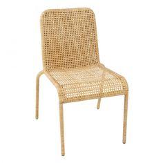 Chaise en éclisse de rotin Trinidad - chaise rotin KOK