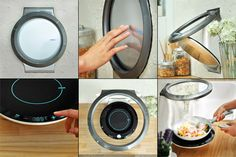 S.I.A.M. – Wall Built-in Hood And Induction Cooker