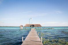 Yucatan Rundreise Tipps: Bacalar - Lagune der 7 Farben