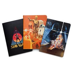 Star Wars: A New Hope 40th Anniversary Notebook Collection | ThinkGeek