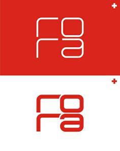 rora, electronic, deep, techno, minimal music records label logo design